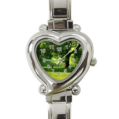 Trees Heart Italian Charm Watch  by Siebenhuehner