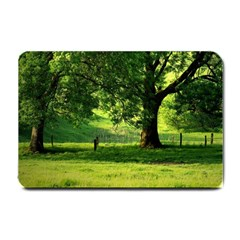 Trees Small Door Mat by Siebenhuehner