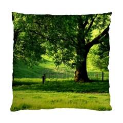 Trees Cushion Case (single Sided)  by Siebenhuehner