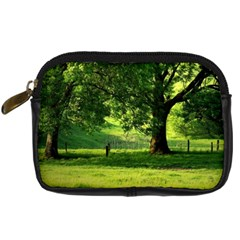 Trees Digital Camera Leather Case by Siebenhuehner