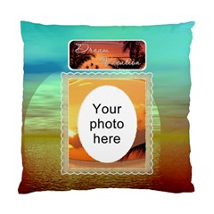 Dream Vacation Cushion Case (2 Sides) By Lil    Standard Cushion Case (two Sides)   29bcui36326i   Www Artscow Com Front