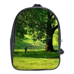 Trees School Bag (xl) by Siebenhuehner