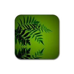 Leaf Drink Coasters 4 Pack (square) by Siebenhuehner