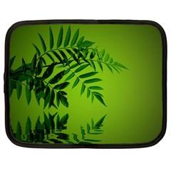 Leaf Netbook Case (large) by Siebenhuehner