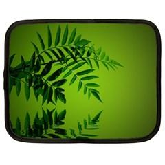 Leaf Netbook Case (xl) by Siebenhuehner