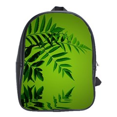 Leaf School Bag (large) by Siebenhuehner