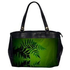 Leaf Oversize Office Handbag (one Side) by Siebenhuehner