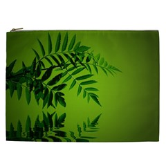 Leaf Cosmetic Bag (xxl) by Siebenhuehner