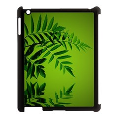 Leaf Apple Ipad 3/4 Case (black) by Siebenhuehner