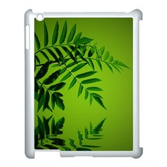 Leaf Apple Ipad 3/4 Case (white) by Siebenhuehner
