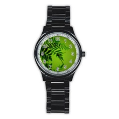 Leaf Sport Metal Watch (black)