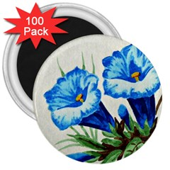 Enzian 3  Button Magnet (100 Pack) by Siebenhuehner