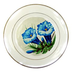 Enzian Porcelain Display Plate by Siebenhuehner