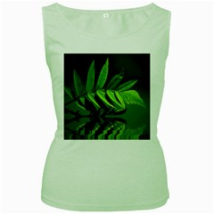 Leaf Womens  Tank Top (green) by Siebenhuehner