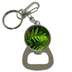 Leaf Bottle Opener Key Chain by Siebenhuehner