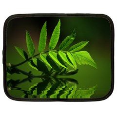 Leaf Netbook Case (large) by Siebenhuehner