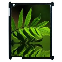Leaf Apple Ipad 2 Case (black) by Siebenhuehner