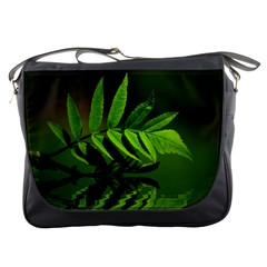 Leaf Messenger Bag by Siebenhuehner