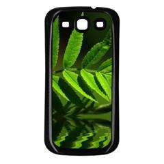 Leaf Samsung Galaxy S3 Back Case (black) by Siebenhuehner