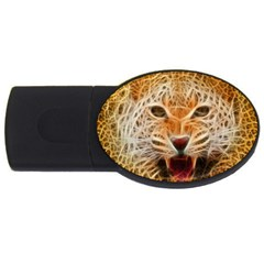Jaguar Electricfied 2gb Usb Flash Drive (oval) by masquerades