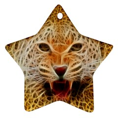 Jaguar Electricfied Star Ornament (two Sides) by masquerades