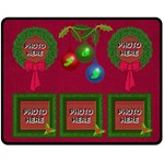 Holiday Joy medium blanket - Fleece Blanket (Medium)