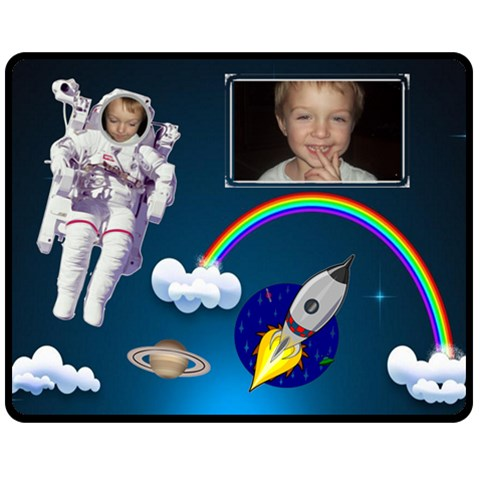 Blast Off Medium Blanket By Joy Johns   Fleece Blanket (medium)   Mt0eux3gkwto   Www Artscow Com 60 x50 Blanket Front