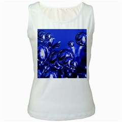 Magic Balls Womens  Tank Top (white) by Siebenhuehner