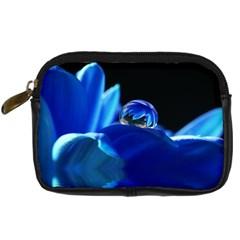 Waterdrop Digital Camera Leather Case by Siebenhuehner