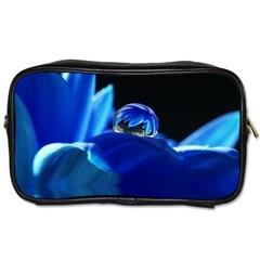 Waterdrop Travel Toiletry Bag (two Sides) by Siebenhuehner