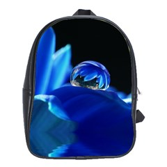 Waterdrop School Bag (xl) by Siebenhuehner