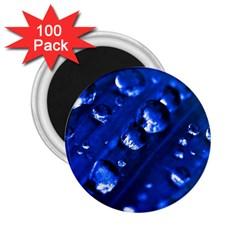 Waterdrops 2 25  Button Magnet (100 Pack) by Siebenhuehner
