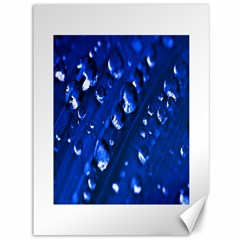 Waterdrops Canvas 36  X 48  (unframed) by Siebenhuehner