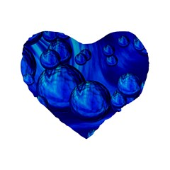 Magic Balls 16  Premium Heart Shape Cushion  by Siebenhuehner