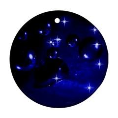 Blue Dreams Round Ornament by Siebenhuehner