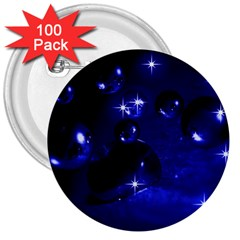 Blue Dreams 3  Button (100 Pack) by Siebenhuehner