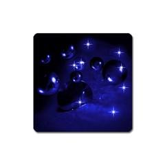 Blue Dreams Magnet (square) by Siebenhuehner