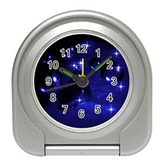 Blue Dreams Desk Alarm Clock