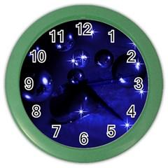 Blue Dreams Wall Clock (color) by Siebenhuehner