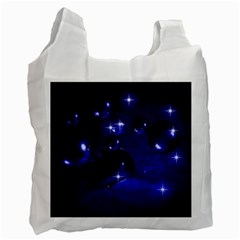 Blue Dreams Recycle Bag (one Side) by Siebenhuehner
