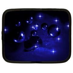Blue Dreams Netbook Case (xxl) by Siebenhuehner