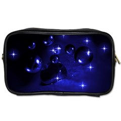 Blue Dreams Travel Toiletry Bag (one Side) by Siebenhuehner