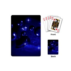 Blue Dreams Playing Cards (mini) by Siebenhuehner