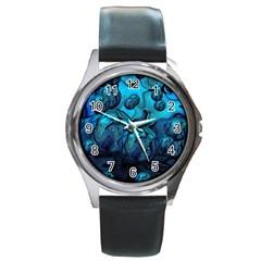 Magic Balls Round Metal Watch (silver Rim) by Siebenhuehner