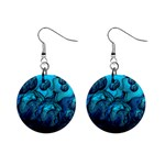 Magic Balls Mini Button Earrings Front
