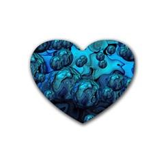 Magic Balls Drink Coasters 4 Pack (heart)  by Siebenhuehner
