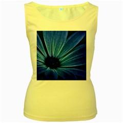 Flower Womens  Tank Top (yellow) by Siebenhuehner