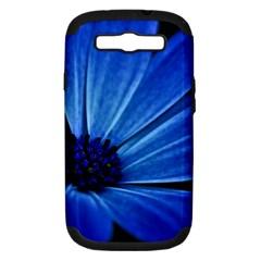 Flower Samsung Galaxy S Iii Hardshell Case (pc+silicone) by Siebenhuehner