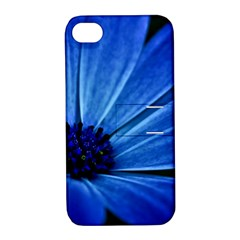 Flower Apple Iphone 4/4s Hardshell Case With Stand by Siebenhuehner