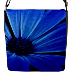 Flower Flap Closure Messenger Bag (small) by Siebenhuehner